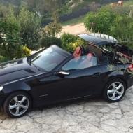 Mercedes Cabriolet SLK de 2004 en très bon état - mise à prix 6000€