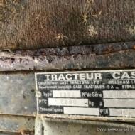 Plaque Tracteur CASE - type 134 BHB - Hydra_Shift GO - 14 CV