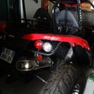 Buggy PGO 500 (10/08/2011) - Equipé pour handicapé avec le gant - En très bon état
