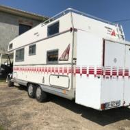 Camping Car PEUGEOT double essieux - du 20/10/1992 - Go - 10cv -136933 km au compteur - 2,5L diesel - caisse FRANKIA Mobil (Liquidation Judiciaire M. LAFAYE) mise à prix 5000 €