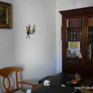 Bibliothèque en acajou Style Louis XVI