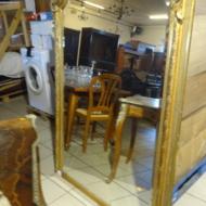 Belle et grande miroir XIXième